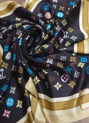 Louis vuitton шелковый платок