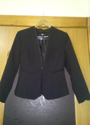 Пиджак жакет h&m размер евро 36