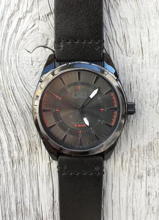 Часы q&q q894j804y/класcические мужские часы. наручные стильные часы
