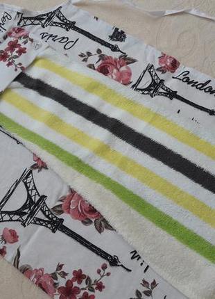Комплект фартук +полотенце махра плотное турция