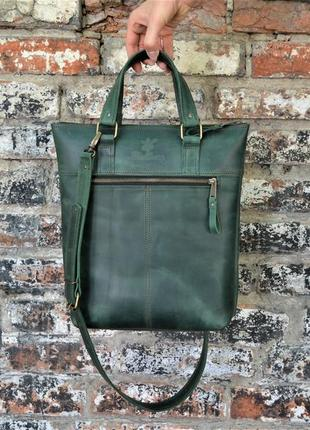 Сумка ручной работы, сумка из натуральной кожи, шкіряна сумка, сумка через плечо
