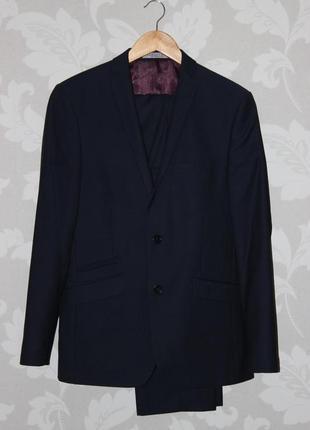 Фирменный костюм темно синий alexander