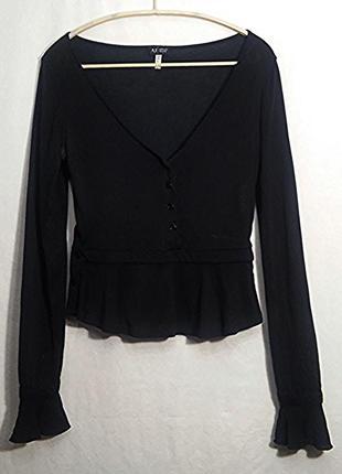 Armani jeans, блуза кардиган черный, made in italy