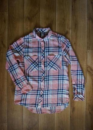 Рубашка 100% котон stradivarius