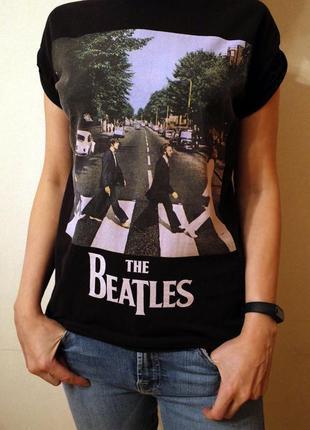 Коллекционная футболка the beatles