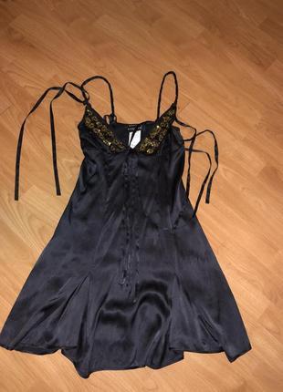 Потрясающие, шелковое платье richmond