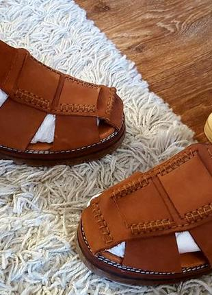 Кожаные сандалии класса люкс nathaneil германия