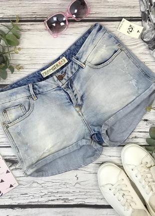 Лёгкие джинсовые шорты с низкой посадкой из молодежной серии zara  pn1834004