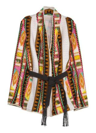 Пиджак в этно стиле h&m