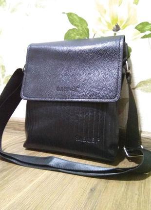 Мужская сумка портфель портмоне барсетка черное