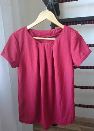 Бордовая блузка esmara