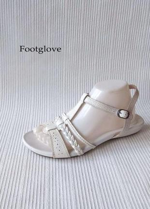3364 босоніжки footglove uk6/eu39 нові шкіра