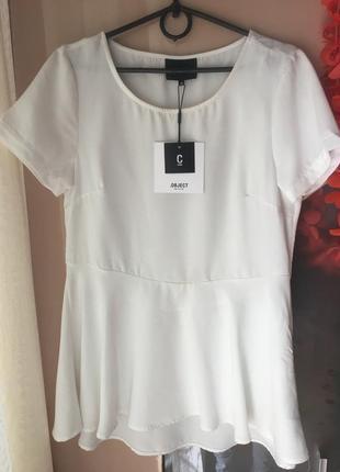 Очень красивая белоснежная блуза object