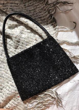 Вечерняя сумочка расшитая бисером accessorize