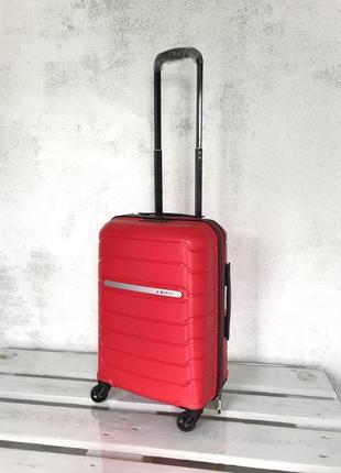💎new💎 чемодан из полипропилена малый ручная кладь валіза ручна поклажка