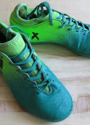 Футбольные сороконожки бутсы для зала adidas techfit ориг 34 размер стелька 21,5см х 7,5см