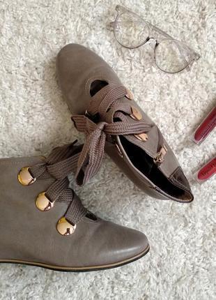 Осенние ботиночки)