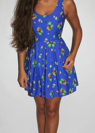 Платья - более 200 ед! !  платье в попугаях!