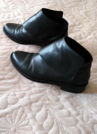 Ботинки осень натуральная кожа