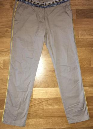 Укорочённые брюки бриджи штаны капри с карманами