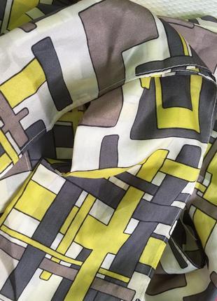 Шикарный шелковый шарф/натуральный шелк / абстрация