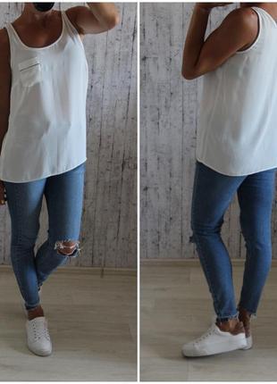 Майка-блуза f&f размер 10