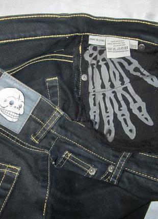 Зауженые стрейч джинсы дизель 30/32 англия