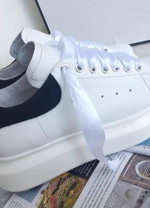 Кожаные кроссовки кеды в наличии