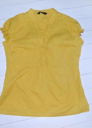Льняная рубашка f&f, размер 36