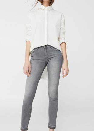 Шикарные джинсы olivia от mango, премиум модель, 36, 40р, испания, оригинал