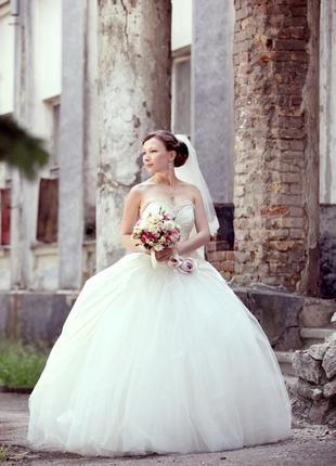 Эксклюзивное свадебное платье итальянского дома моды atelier aimee (atelier eme)