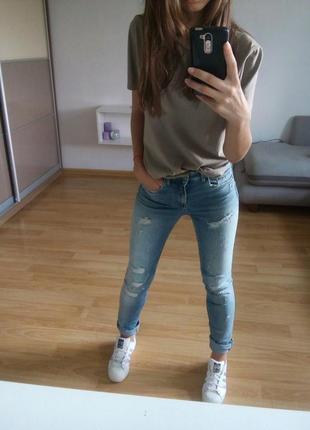 Джинсы h&m high waist5 фото