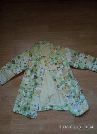 Плащ-пальто на девочку 2-3 года next