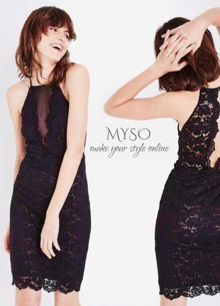 Кружевное платье от new look