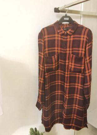 Длинная рубашка туника платье