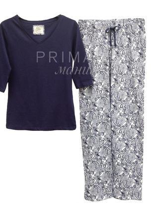 Женская трикотажная пижама primark