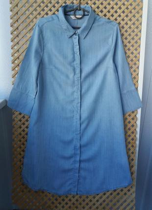 Легкая рубашка-платье