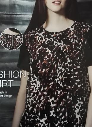 Блуза с леопардовым принтом. xs