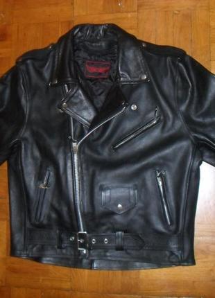 Мото-костюм кожаный l & j  ( германия )  , размер 50-52 ( m-l )