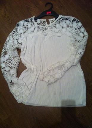 Шикарна блуза більшого розміру