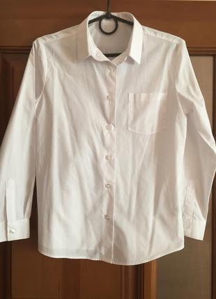 """Белая школьная рубашка для девочек """"george """""""