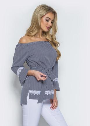 Женственная блуза molegi, 46-48 р. цена ниже оптовой.