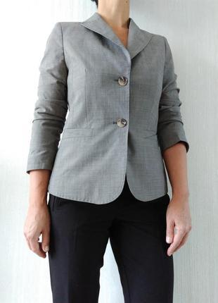 Стильный шерстяной базовый пиджак mexx р 36