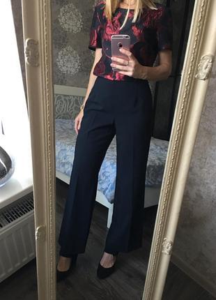 Широкие укорочённые брюки