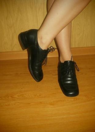 Удобные/ортопедические  ботиночки/нат.кожа/25,5 см