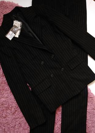 Брючный костюм пиджак брюки