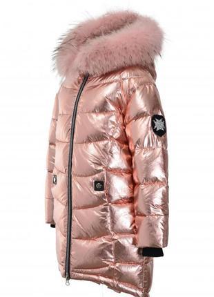 Зимние пальто для девочек donilo 4968 134-164 размер donilo