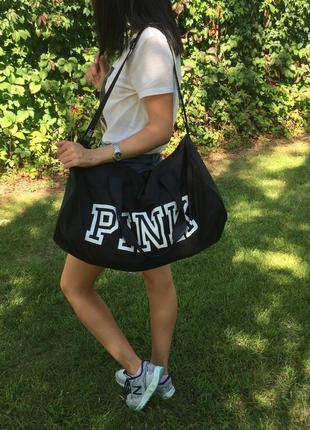 Спортивная сумка victoria's secret pink, сумка для спорт зала дорожная сумка оригинал3