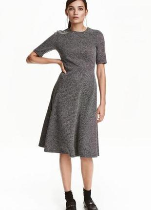 Платье из текстурной ткани h&m 0404396001 размер xs