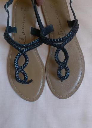Кожаные сандалии/босоножки /вьетнамки